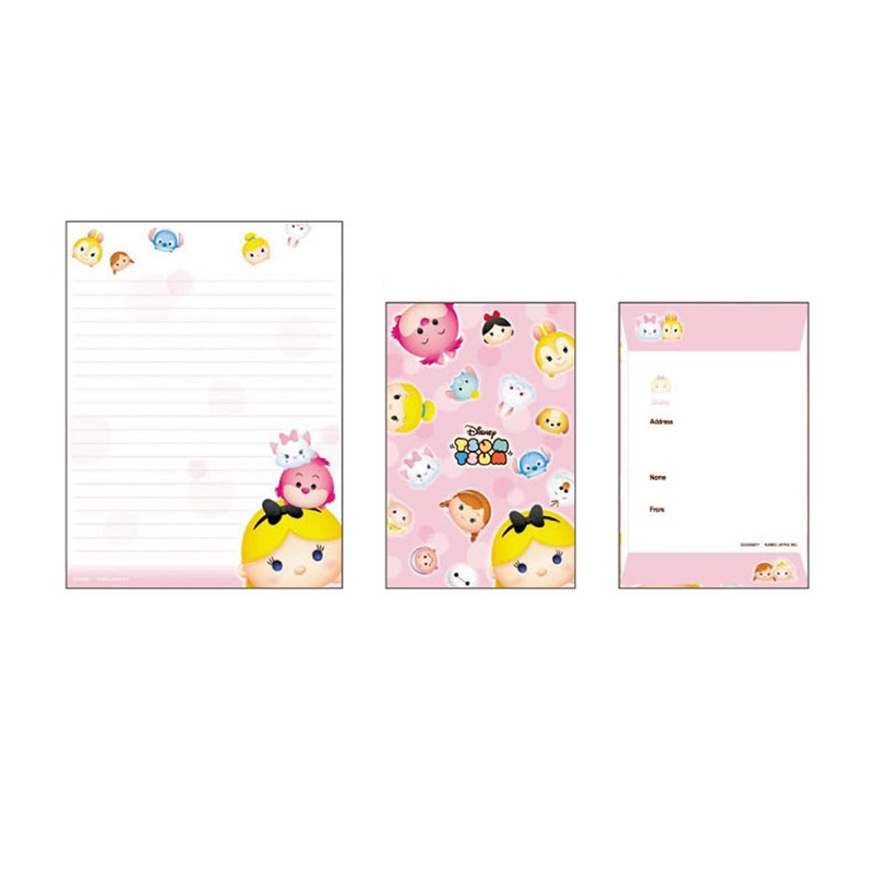 Tsum Tsum Letter Set Kawaii Panda Making Life Cuter