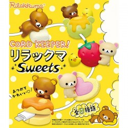 Rilakkuma Sweets Cord Keeper Re-Ment
