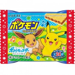 Wafer Pokémon Chocolate