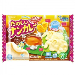 Popin' Cookin' DIY Kit Tanoshii Naan Curry