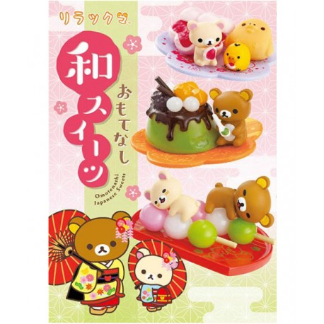 Rilakkuma Omotenashi Japanese Sweets Re-Ment
