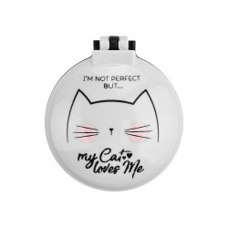 Escova & Espelho Desdobrável My Cat Loves Me