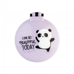 Beautiful Panda Folding Hair Brush