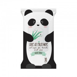 Love at First Wipe Panda Wet Wipes