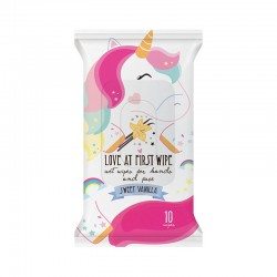 Love at First Wipe Unicorn Wet Wipes
