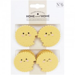 Set Pinzas Kawaii Cookies