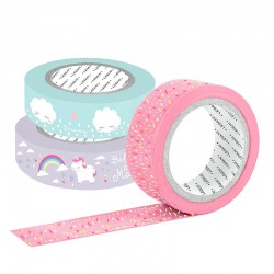 Set Washi Tapes Unicorn Dream