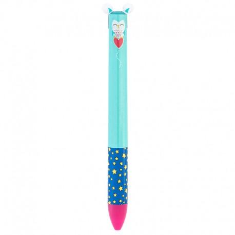 Click & Clack Hedwig Multicolor Pen