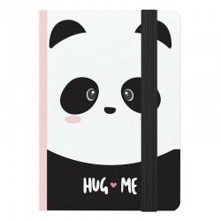 Cuaderno A6 Hug Me Panda