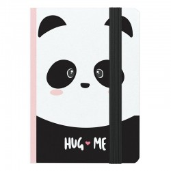 Hug Me Panda A6 Notebook