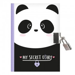 Diário Secreto Funky Panda