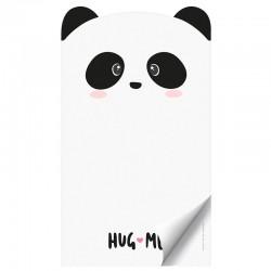 Bloco Notas Die-Cut Hug Me Panda