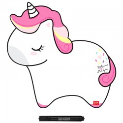 Something to Remember Unicorn Magnetic Board