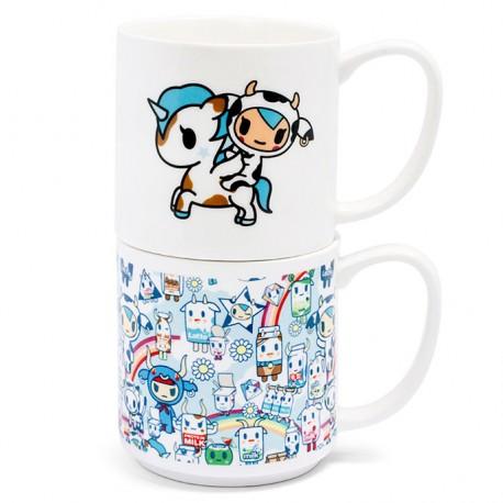 Moofia Stacked Mugs Gift Set