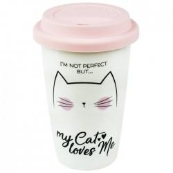 Caneca Viagem My Cat Loves Me