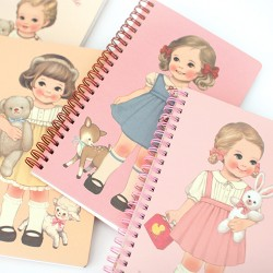Caderno Paper Doll Mate Spring