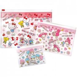 Hello Kitty Kawaii Desu! Zippered Cases Set