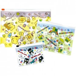Pompom Purin Kawaii Desu! Zippered Cases Set