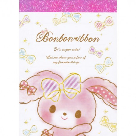 Bonbon Ribbon Mini Memo Pad