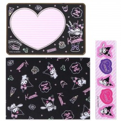 Kuromi Message Cards Set