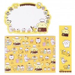 Pompom Purin Message Cards Set