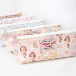 Paper Doll Mate Pen Pouch