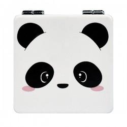 Espelho Bolso Funky Panda