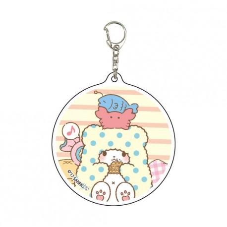Marumofubiyori Biscuits Keychain