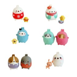 Set Figuras Molang Best Friends