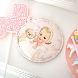 Paper Doll Mate Pocket Mirror