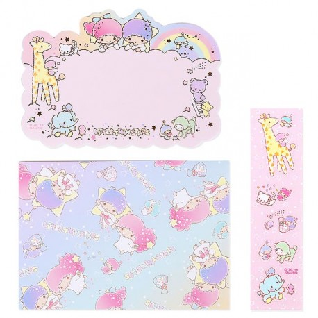 Little Twin Stars Message Cards Set