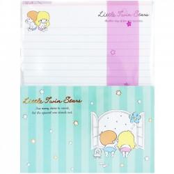 Little Twin Stars Retro Window Letter Set