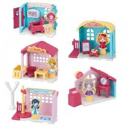 HUGtto! PreCure Precute Town Miniatures