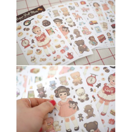 Paper Doll Mate Stickers