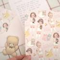Paper Doll Mate Mini Letter Set