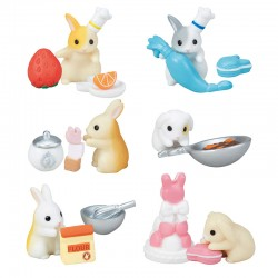 Rabbit Patissier 2 Miniatures Gashapon