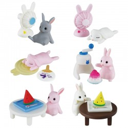 Miniaturas Summer Rabbit Gashapon
