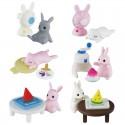 Miniaturas Summer Rabbit Gashapon
