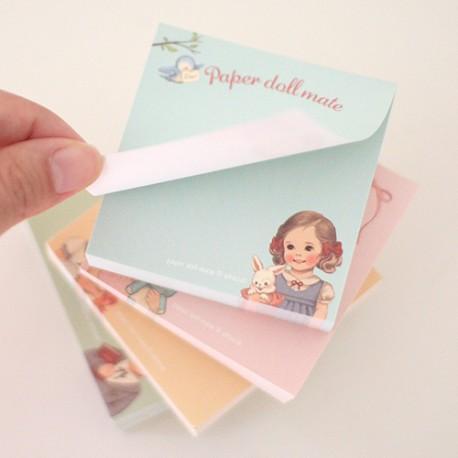 Paper Doll Mate Memo Pad