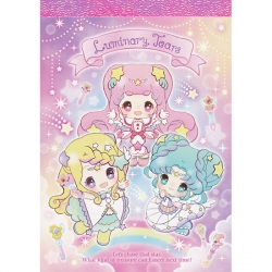 Mini Bloco Notas Luminary Tears Rainbow Dream