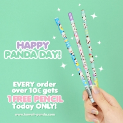 Special Panda Day - 1 Free Pencil