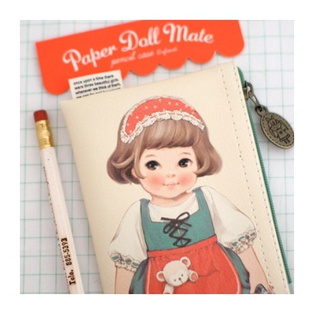 Paper Doll Mate Country Pen Pouch