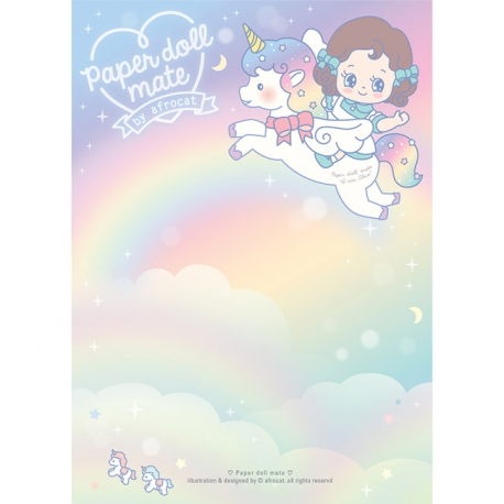 Paper Doll Mate Kawaii Alice Memo Pad