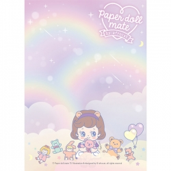 Bloco Notas Paper Doll Mate Kawaii Sally