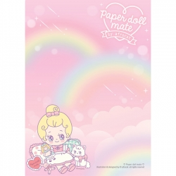 Paper Doll Mate Kawaii Julie Memo Pad