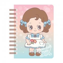 Mini Caderno Paper Doll Mate Kawaii Alice