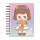 Mini Libreta Paper Doll Mate Kawaii Sally