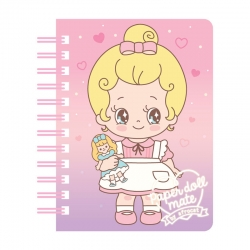 Bloco Notas Paper Doll Mate Minime Julie
