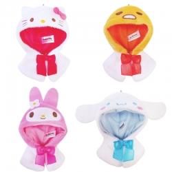 Sanrio Characters Petit Poncho Gashapon