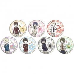 Sanrio Boys Graff Art Button Badge